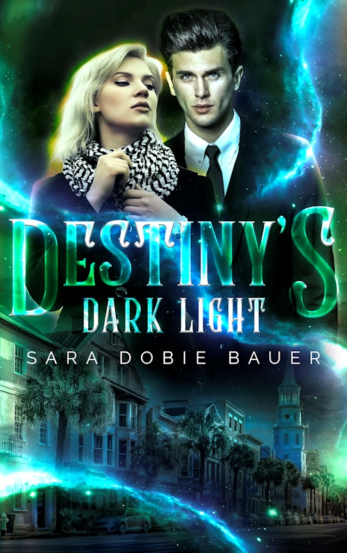 Cover for Destiny's Dark Light -- Paranormal romance